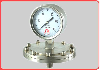 Diaphragm-type-Pressure-Gauge